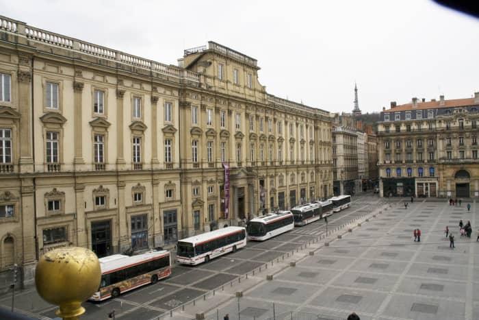 Le Musée de Beaux Arts in Lyon's Place des Terreaux
