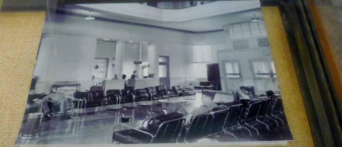 1940 Air Terminal Museum photo with Humphrey Bogart