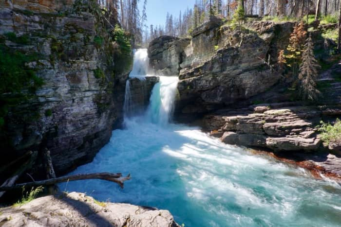 St. Mary Falls @ Glacier National Park