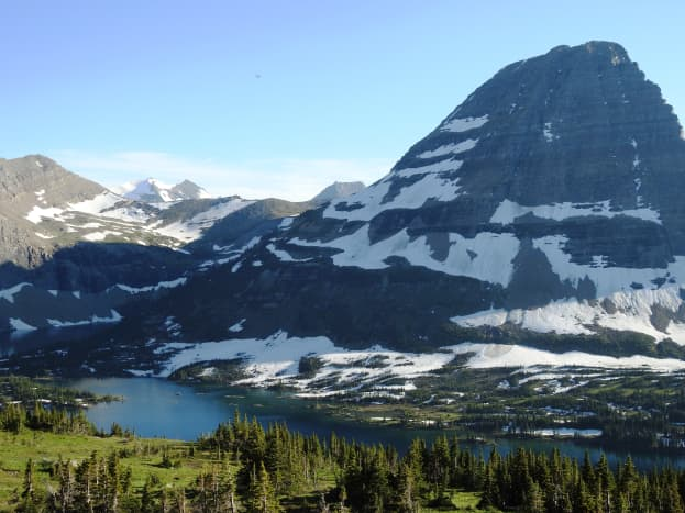 View from Hidden Lake Overlook @ Glacier National Park