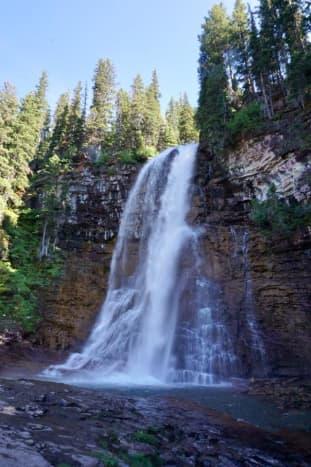 Virginia Falls @ Glacier National Park
