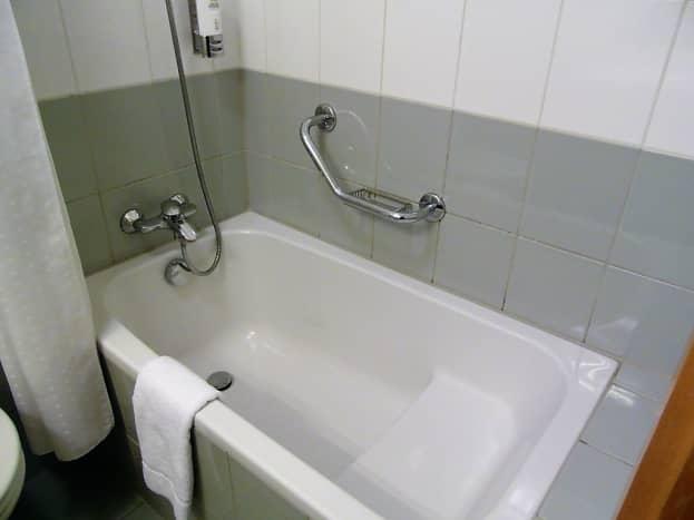 The bathtub.