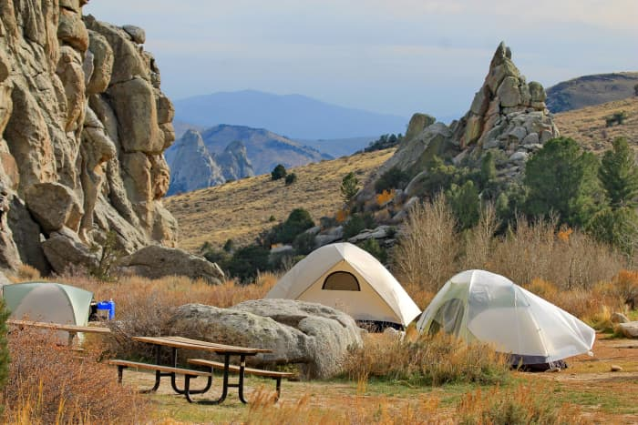 Bread Loves Group Campsite @ City of Rocks National Reserve, Idaho