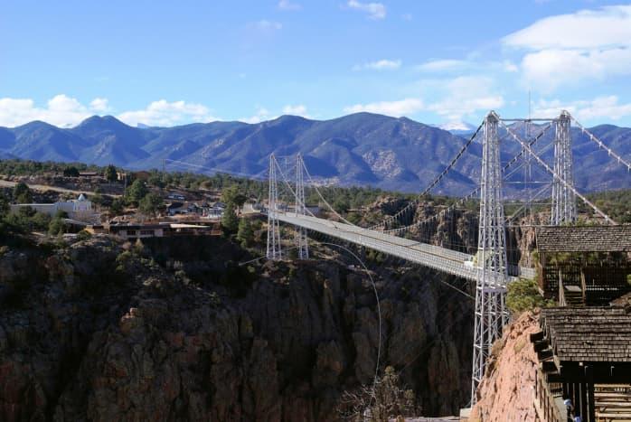 Royal Gorge Bridge in Canon City, Colorado