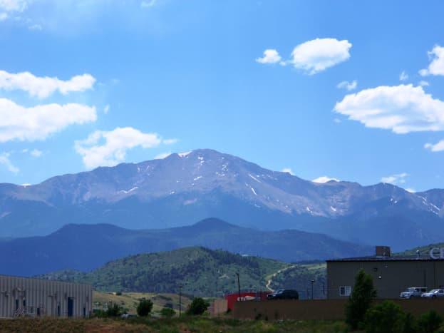 Pikes Peak in Colorado Springs, CO
