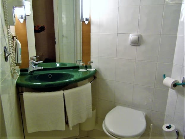 Sink and WC