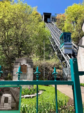 Funicular in Québec City