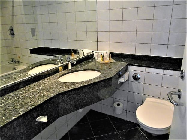 Sink area.