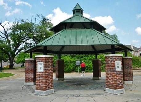 Vietnamese Heritage Plaza in Elizabeth Baldwin Park