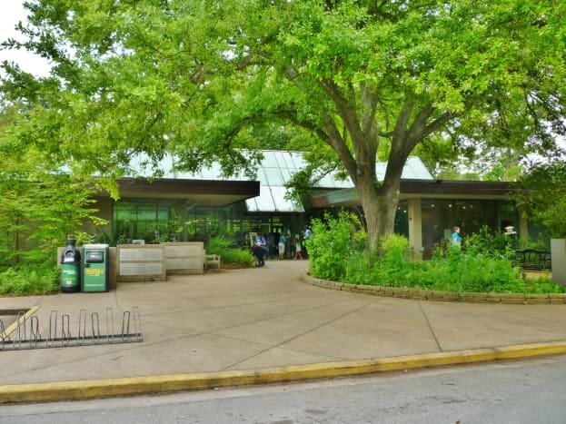 Houston Arboretum Building Exterior
