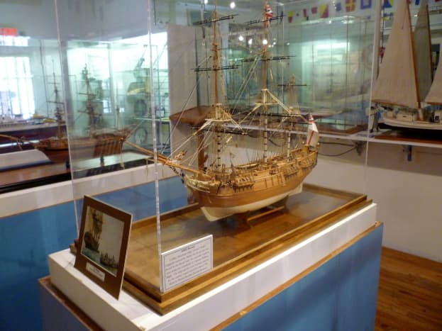 Model of the HMS Bounty