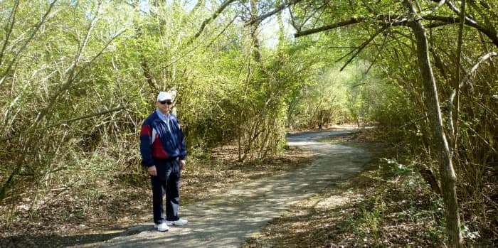 Nature Trail in Theis Attaway Park