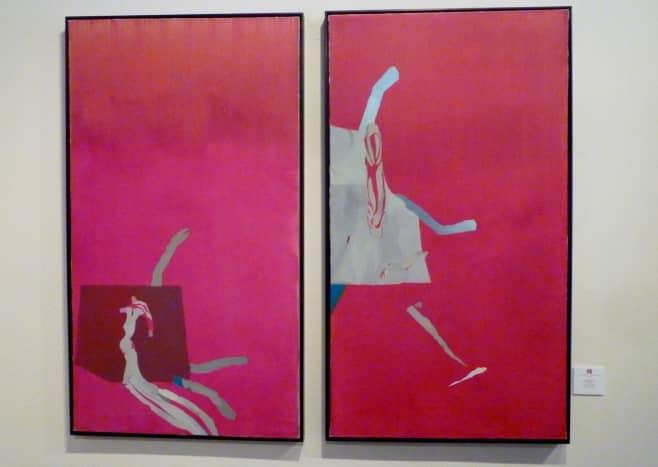 Artist Dorothy Hood – Navajo Diptych, 1980