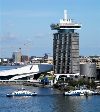 Buiksloterweg ferry across the Ij.