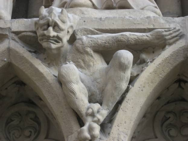 Pagan Gargoyle on Christian Church