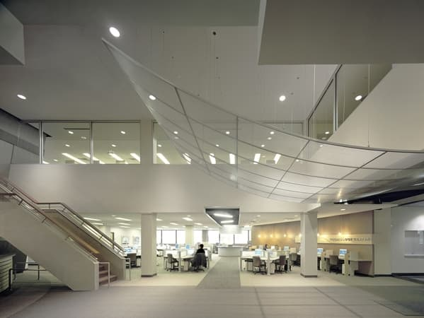 This is the new, high-tech library and tech center at Morton College.