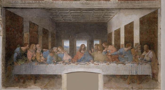 Did Leonardo Da Vinci help to perpetuate the belief of spilled slat as evil?