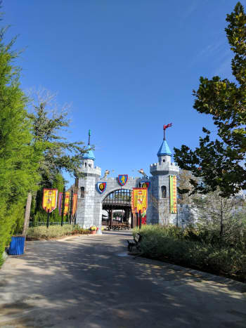 Entrance to the Lego Kingdom.