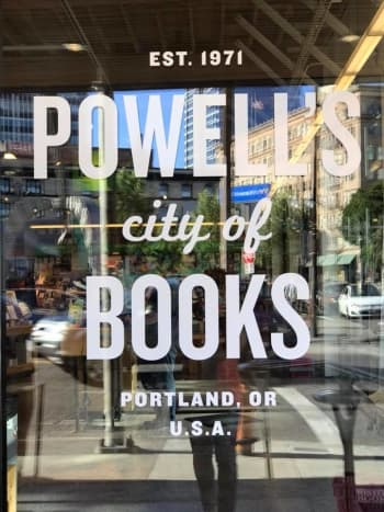 Powell's City of Books in downtown Portland
