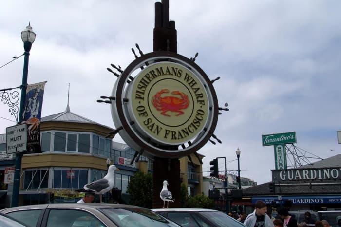 Famous Fisherman's Wharf in San Francisco, California