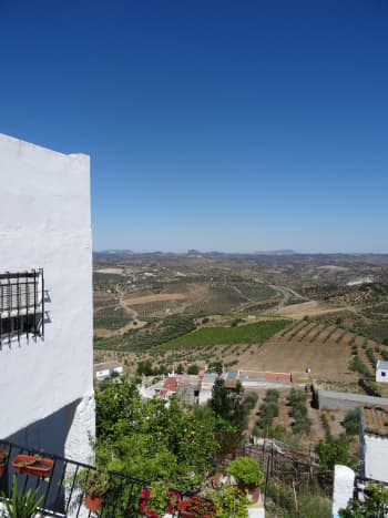Views are Spectacular! Olvera is Perched on Top of a Hill in Olive Tree Country.