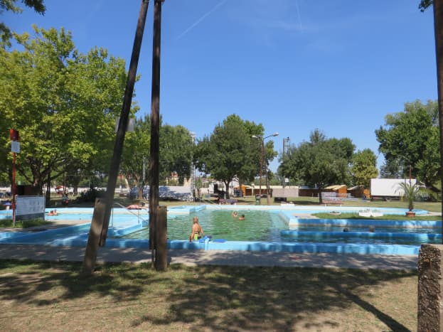 Retro Hungarian Swimming Pool