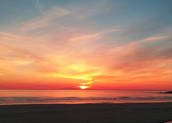 Agate Beach at Sunset