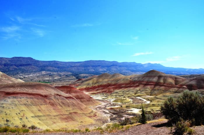Painted Hills Unit in John Day Fossil Beds National Monument