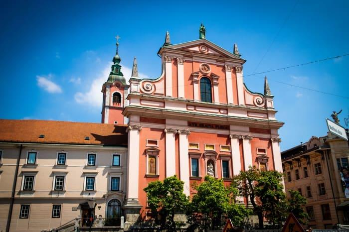 Franciscan Church – Preseren Square, Ljubljana