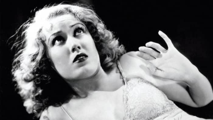 Fay Wray in King Kong.