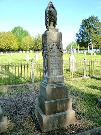 Masonic Cemetery in Chappell Hill, Texas