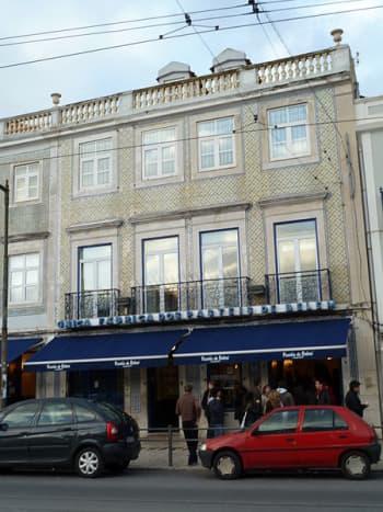 Outside of Pasteis de Belem Cafe