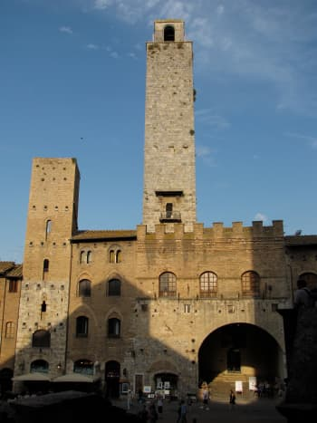 The Torre Grossa, the tallest of San Gimignano's 14 towers.