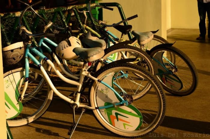 Bicycles can be rented in Nuvali for Php60.00 an hour.