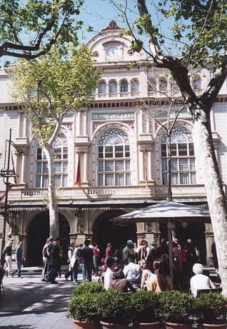 Gran Teatre del Liceu...an opera house dating back to 1847.