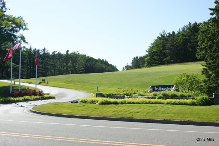 The Homestead Resort on the east side of Glen Arbor http://www.thehomesteadresort.com/