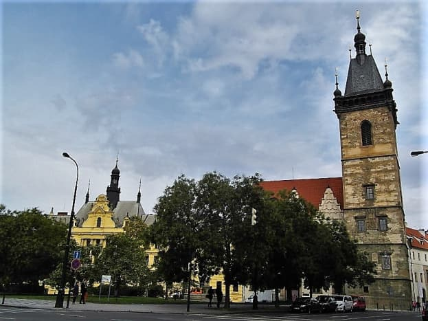 The New Town Hall, Prague.