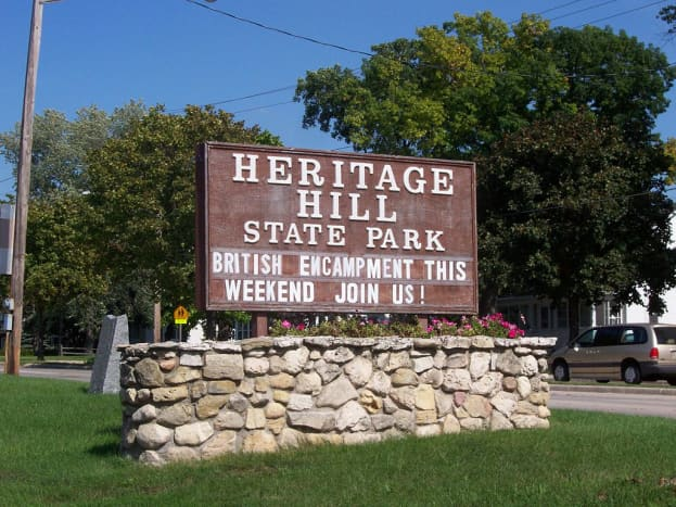 Heritage Hill State Historic Park, Green Bay, Wisconsin