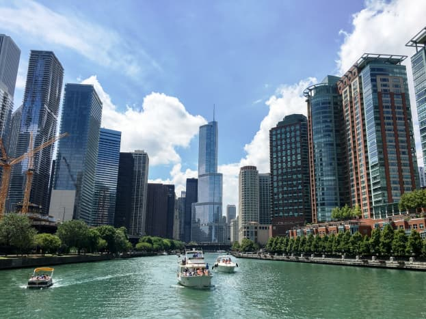 Chicago Architectural River Cruise in Chicago, Illinois