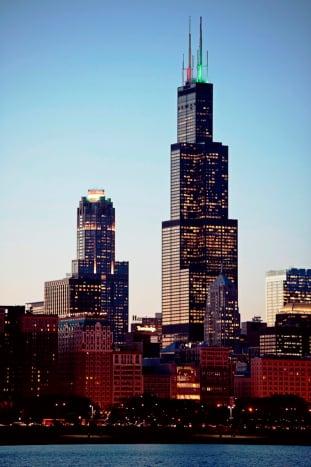 Willis Tower in Chicago, Illinois