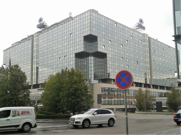 Hilton, Prague.