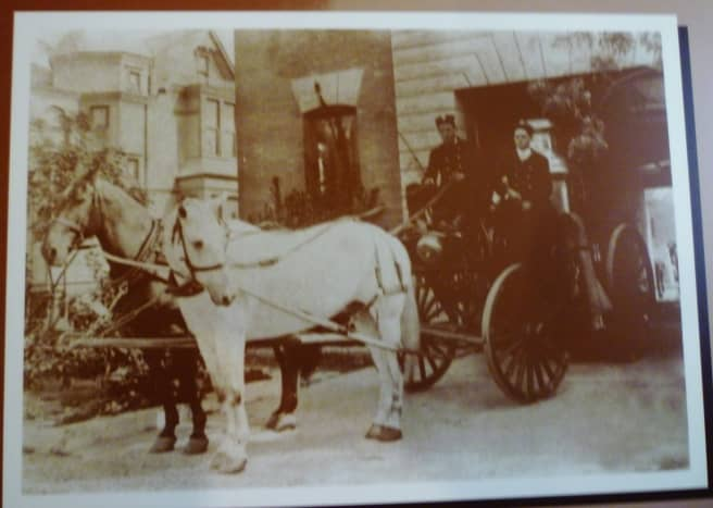 Photo in the Fire Museum of Houston