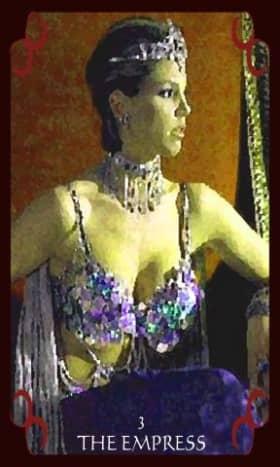 Cordelia as The Empress