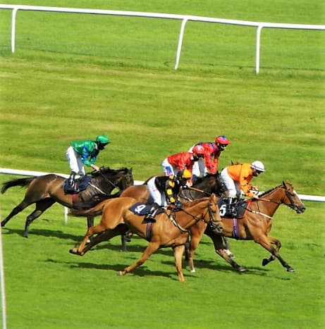 Racing from Doncaster.