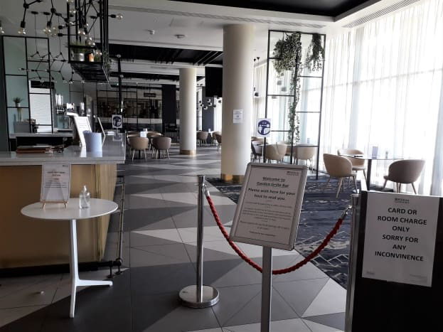 Restricted food and drink options