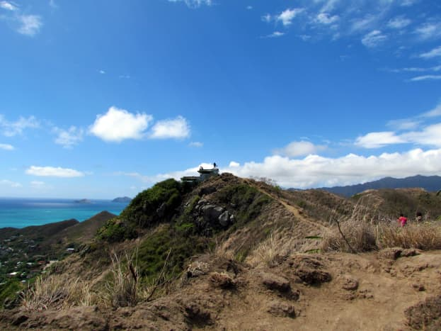 Second pillbox, as seen from the first