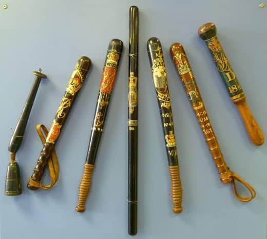 Nightsticks, batons and clubs
