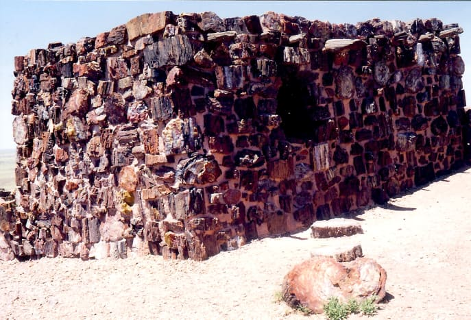 Agate House  in the Petrified Forest National Park