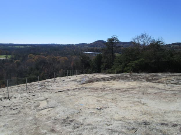 Photos from the top of the quarry.