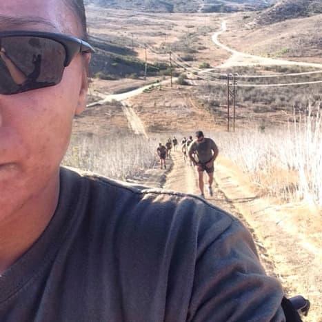 Always hiking